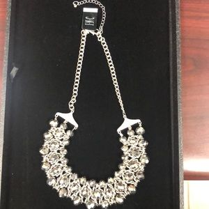 New INC Silver Necklace